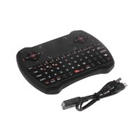 Wholesale 2 GHz multifunction Wireless Gaming Keyboard Air Mouse Touchpad MIC Audio Chat