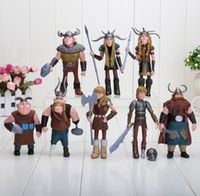Wholesale 10 cm How to Train Your Dragon Figurines Pvc Action Figures Classic Toys Kids Children s Gift Sets