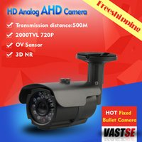 axis security cameras - 720P AHD Camera MP Outdoor Bullet waterproof ip66 security CCTV HD Lens Night Vision With IR CUT with Axis bracket IR BNC