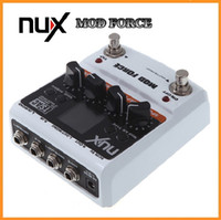 Wholesale NUX Guitar Mod Force Electric Effect Pedal Multi Modulation Color Screen Musical Instrument Parts Via DHL