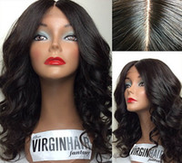 Wholesale 2015 new Beutitful body wave africa american malaysian virgin hair glueless full lace wigs with bangs can be dyed
