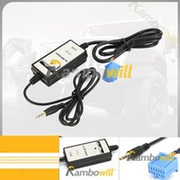 Cheap Car Audio AUX Adapter Cable 3.5mm CD Changer MP3 Player Fit For Honda Accord Civic CRV Element Odyssey Pilot 1998 2002
