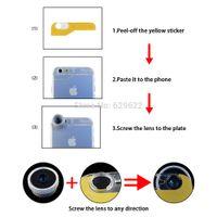 ape clips - Evileye no dark circle Clip on degree Fisheye lens For iPhone Plus amp Samsung fish eye lenses mobile phone lens APE FCFE180
