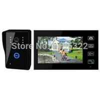Wholesale Touch Monitor inch LCD Video Intercom Door Phone Doorbell With Touch Key Camera Security System