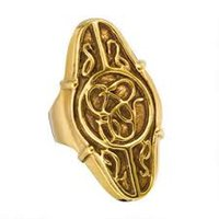 band council - 12pcs Elrond Ring Gold Council The Hobbit An Unexpected Journey