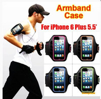 armband case cover - Sports Running Jogging Gym Armband Arm Band Case Cover Holder for a variety of apple S Plus variety Samsung Galaxy S7 S7 Edge