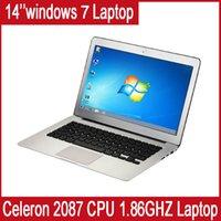 Wholesale Hotselling quot GB Ram GB HDD Celeron GHZ CPU Integrated card Intel Dual Core Ultra slim laptop Multi language Windows OS