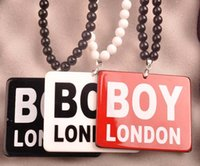 london necklace - Luxury Brand Good Wood Men Pendant Long Chain Necklace Hip Hop Boy London Pendants Necklaces Women Costume Jewelry Z00458