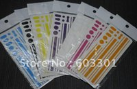 iphone bumper sticker - Mixed Color Side Bumper Insulation Sticker for iPhone G For iPhone G side sticker for iPhone G side skin retail packing