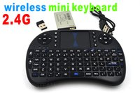 Wholesale I8 G mini wireless keyboard combo with mouse new design use for multi media laptop destop with black and white color