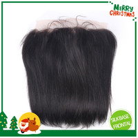 Cheap straight silk base frontal Best silk base lace frontal closure