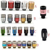 Wholesale Dynasty Drip Tip Hot Selling E cigarette Drip Tip Mixed Color Individual Packaging on sale with