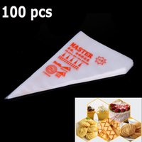 Wholesale Hot Kitchen Accessories Disposable Cream Pastry Bag Cake Icing Piping Decorating Cooking Tool S size