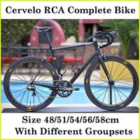 Wholesale Cer velo Carbon Bicycle Complete Bikes Full Carbon Fibre Cycling Complete Bike BB Right With Different Groupset Frame Hub Wheels EMS Shi