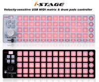 usb controller midi - ICON ISTAGE USB MIDI matrix drum pad pads DJ controller