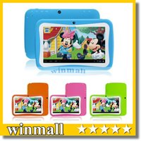android apps best - 7 inch Quad Core Children Kids Tablet PC RK3126 MB GB Android Children Educational Apps Christmas best gift