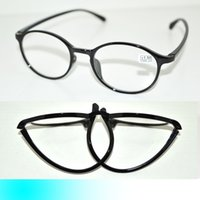bendable reading glasses - FIVE PAIRS BLACK TR90 BENDABLE FOLDING STRECHABLE LARGE FRAMED FASHION WOMEN READING GLASSES