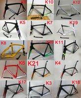 Wholesale T1000 carbon road bike frame hot sale Full carbon fiber road bike frame K carbon racing bicycle frame set