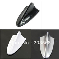 abs antenna - 5pcs Universal Cheap ABS Plastic Car Antenna Shark Fin Decoration Silver Black White