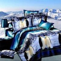 Others bedspread sets - Penguin D bedding set duvet cover bedspread bed sheet linen lover ropa de cama bedclothes sabanas funda nordica