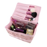 Wholesale DropShipping Professional Cosmetic Case Bag Large Capacity Portable Women Makeup cosmetic bags storage travel bags