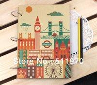 autographed books - Hot sale London style DIY autograph book craft paper souvenir album family autograph album sticker album
