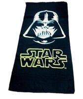 bath knight - hot sale Children Star Wars Towels Robes New Boy and girl cartoon Star Wars Black Knight Darth maul Towels