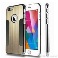 For Apple iPhone alloy iphone case - Luxury Aluminum Alloy Ultra Thin Metal Back Skin Cover Case For iPhone Plus quot