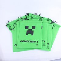 Wholesale minecraft creeper JJ blame my world coolie afraid a of spot gift pouch