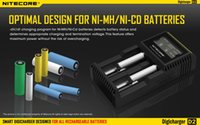 Wholesale NITECORE D2 Charger High Quality Digital Charger with LCD Screen In Stock For Battery