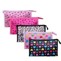 Wholesale more color design fashion lovely color cosmetic bag