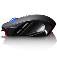 mouse usb - Black DPI USB Wired Optical Gaming Mouse Mice D Button Blue LED for Laptop PC Professional Gamer C1974