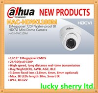 Wholesale DAHUA HDCVI Dome Camera MP P Mini IR HDCVI Camera IP66 with Fixed Lens M IR Distance HAC HDW1100M