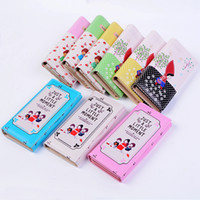 american girl japan - Color Printing Leather Hasp Wallet Fashion Clutches Purses For Girls Creative Paint Card Phone Wallets Women Money Bags