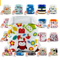 Wholesale Freeshipping Gladbaby cloth diaper cotton soft breathable leak proof pocket diapers urine pants diaper pants