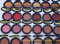 Wholesale Hot Makeup Blush Shimmer Blush Different Color No Mirrors No Brush g