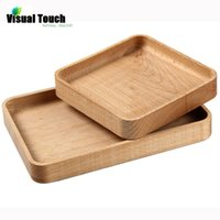plates - Japanese Natural Wooden Plates Handmade ZELKOVA Wood zakka Dishes For Sushi Dessert Snack Serving Tray Bed