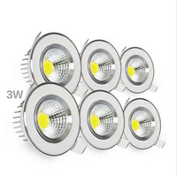 bedding materials - 2016 New arrival led downlight genuine aluminum material cob downlight with high quality led bulb w w recessed ceiling spotlight AC100
