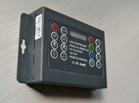 Wholesale RGB metal controller for LED strip LED module LED lighting and moving sign application RF remoter wireless