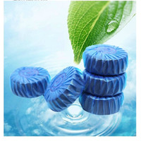 automatic glass cleaner - Households Magic Automatic Flush Toilet Cleaner Fragrant Ball Blue Bubble Cleaning Deodorizes Bathroom Tools JJ269