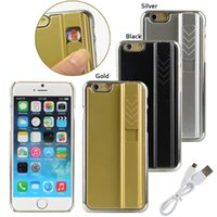 cigarette lighter case - Cool Design iPhone Case With Cigarette Lighter Case Cover for iPhone quot USB Cigarette Lighter Fire Protective Phone Cases