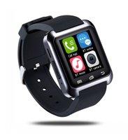 Wholesale Wrist Watch U80 Smartwatch Anti Lost MTK Bluetooth Smart Watch U Watch Pedometer For iphone plus IOS Android Phone