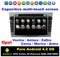 opel zafira dvd gps - HD quot Pure Android Car DVD Car PC for Opel Vectra Antara Zafira Corsa Meriva Astra With GPS BT IPOD G WIFI Radio RDS AUX