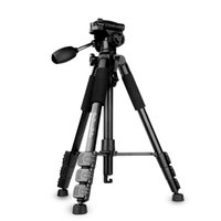 aluminum rocker arms - QZSD Q111 Portable Tripod Sections KG Tripod With Q08 Rocker Arm Ball Head For SLR Camera For DSLR Camera Aluminum alloy Tripod kits