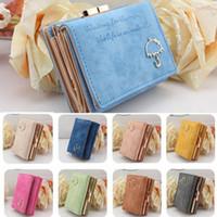 Wholesale Best PU Leather Wallet Button Clutch Purse Short Handbag Bag Colors For Woman Lady