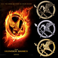 South American mockingjay - The Hunger Games Brooches Inspired Mockingjay And Arrow Hot Movie Hunger Games Bird Brooch Pins For Women And Men