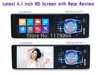 1080p mp4 player - Latest inch TFT HD Screen Rear View Function SD USB Aux in P Car MP4 MP5 Player with Remote Control ZQC13 Fress Shipping