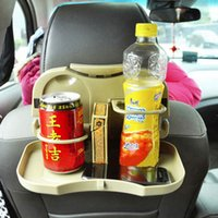 Wholesale Foldable Car Auto Food Meal Drink Tray Desk Dining Table Water Cup Stand Holder Support Mount