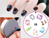 Wholesale 3D g pc DIY Nail Art Stamp Stamping silicon Gel Plate Design Template with Retail packaging DHL