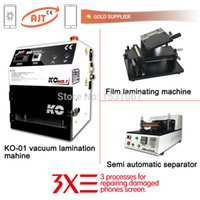 Wholesale Full set KO vacuum oca laminator machine Semi auto separator machine film laminating machine good machine to repair lcd screen
